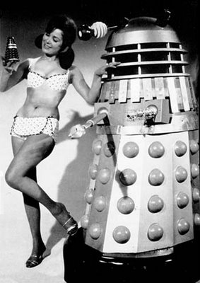 Babe with a Dalek