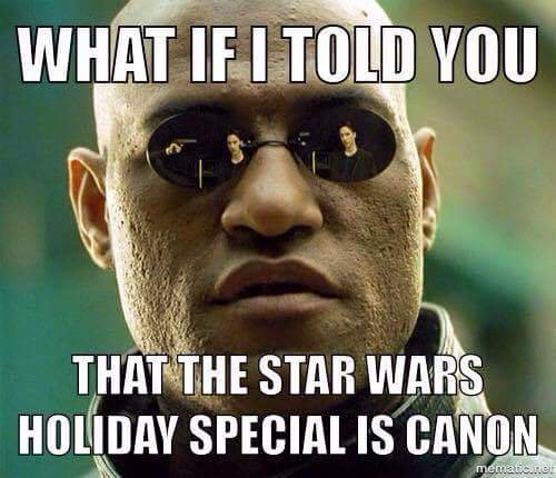 the star wars holiday special is canon
