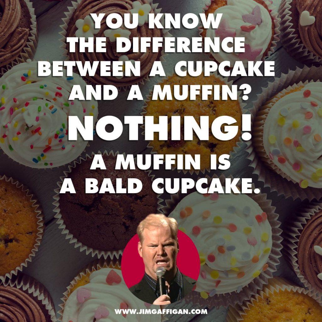 bald cupcake