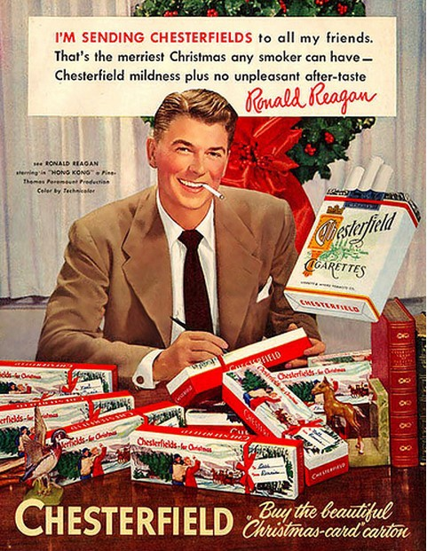 Chesterfield Reagan Christmas Ad