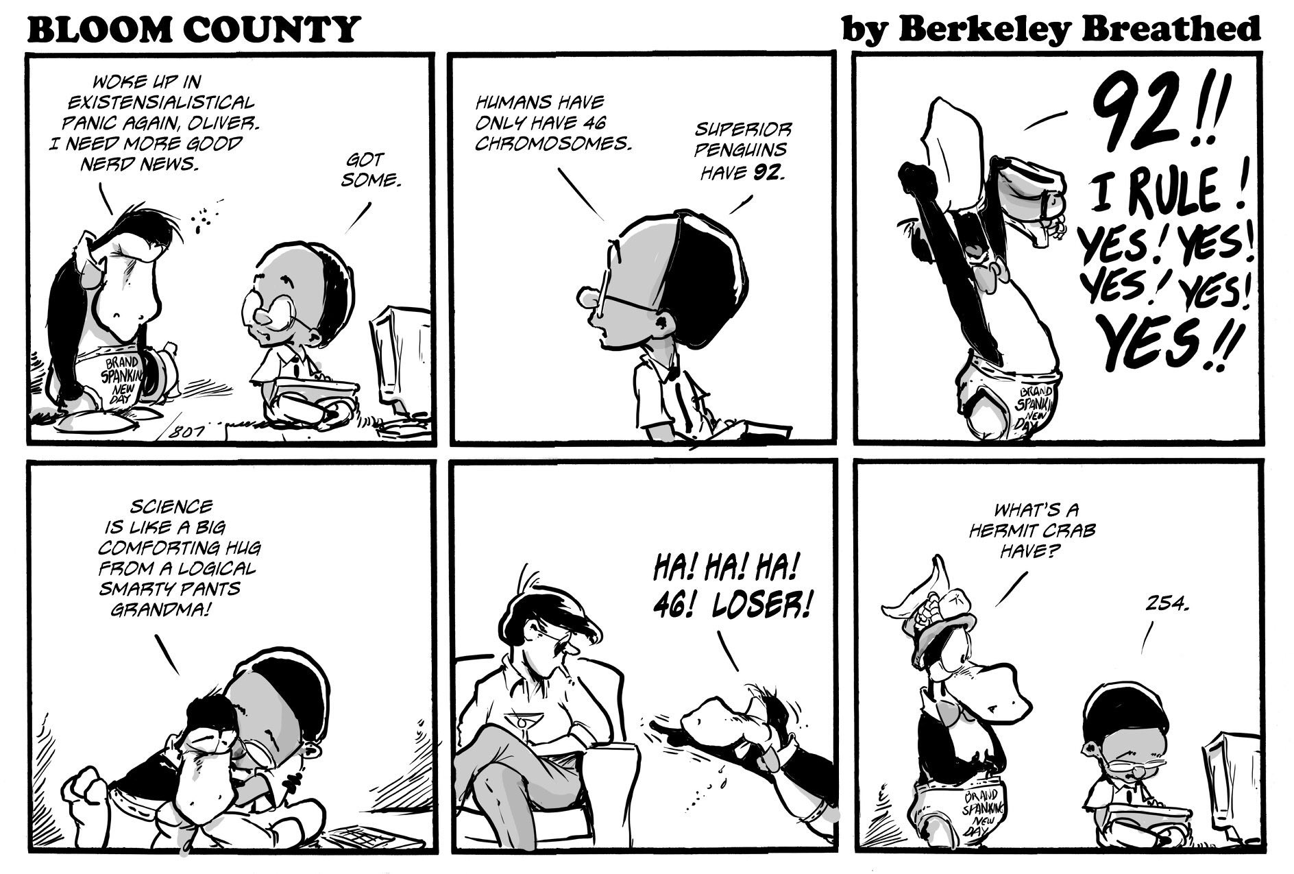 bloom county - science