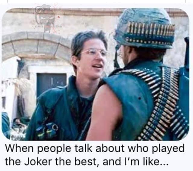 The best movie Joker