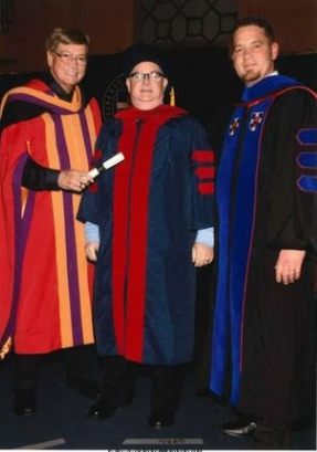 a vile troll receives a worthless degree