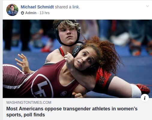 Michael E. Schmidt is a bigot