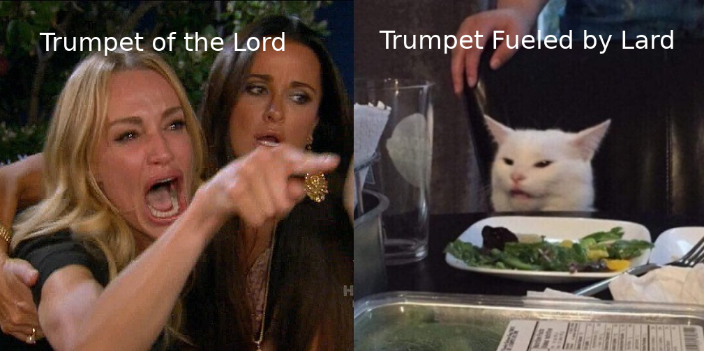 trumpet of the lord