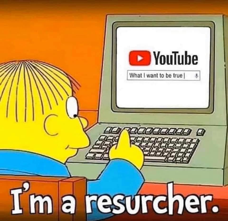 I'm a resurcher