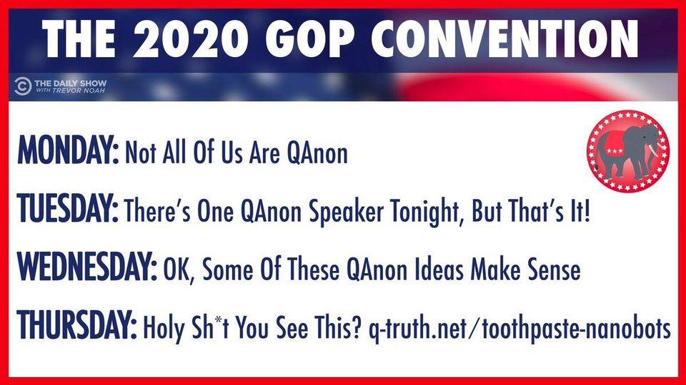gop convention schedule