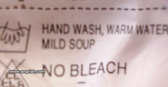 mild soup