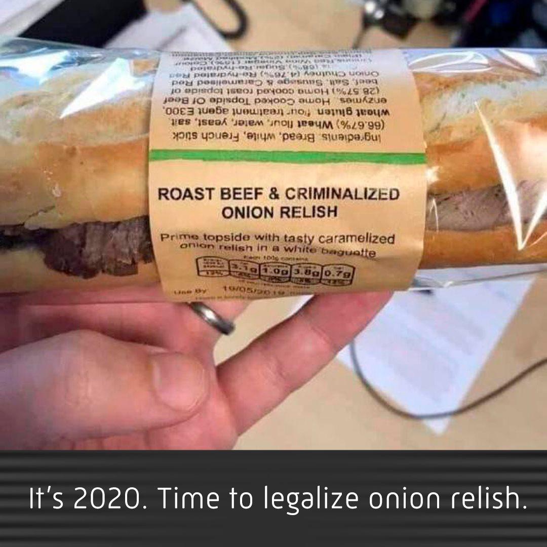 criminalized onion relish