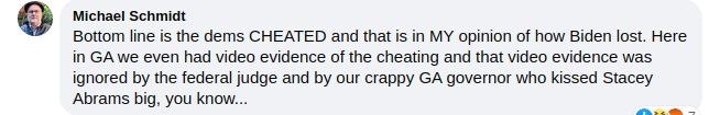 Michael E. Schmidt is stupid