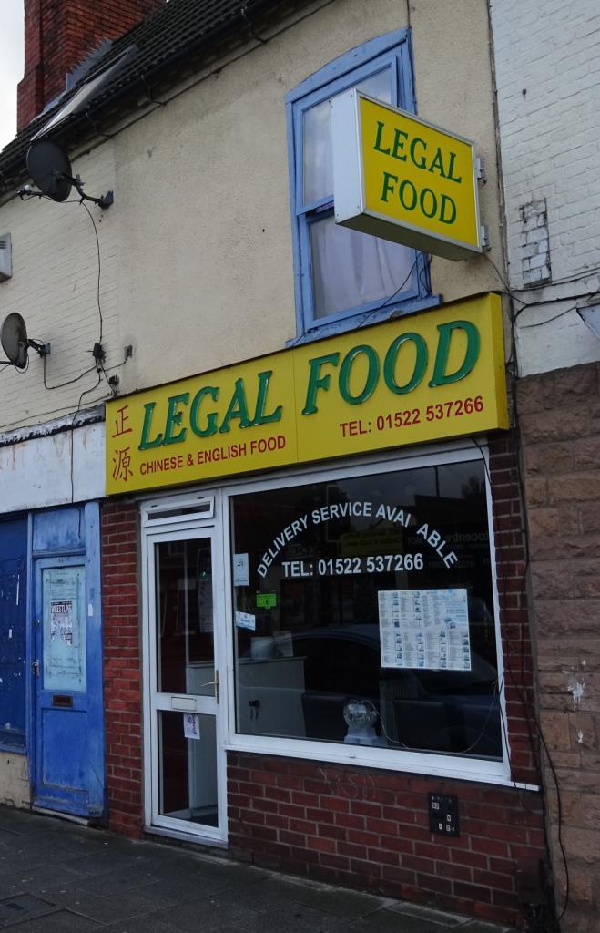 legal food